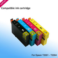 Wholesale 10 X Compatible ink cartridge T200XL for Epson XP100 XP400 XP200 XP300 WF Workforce Printer T2001XL T2004XL