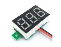 Wholesale Hot Sale Red DC V LED Panel Voltage Meter Digital Display Voltmeter Portable Voltmeter