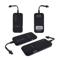 Wholesale Realtime GSM GPRS GPS Locator Real Time Car Vehicle Tracker Tracking Device TK110 GT02A For Google Link