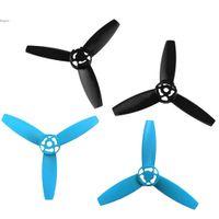 Venta caliente aumentada de 3 hojas hélices para aviones no tripulados loro Bebop 3.0 palas principales Rotores Puntales Propulsores CW + CCW 2 colores 63