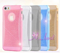 bling iphone case - For iPhone S Bling TPU Case Glitter Sparkling Soft TPU Gel Case Cover Shell For iPhone TPU Case S Bling TPU