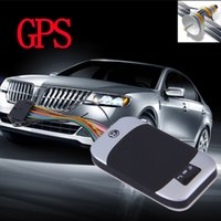 Wholesale Vehicle Car GPS GSM GPRS SMS Tracker New QUAD band TK303G GPS303G gps tracker for car personal google link real position on map