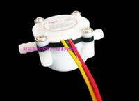 Wholesale High Precision Water flow sensor Flow meter switch L min Quick connector