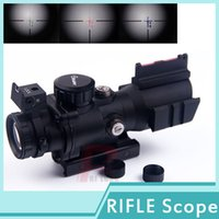 sniper scope - New Sniper X32 Rifle Hunting Scope illuminated Red Green Blue reticle dot sight SP X HT6