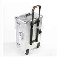 bar trolley - Aluminum Traveling Case Trolley Bag with Wheels and Bar Box for DJI Phantom Vision Protect Professional Aerial FPV HM order lt no track
