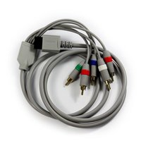 Wholesale Factory Price Component AV Cable for Wii to HDTV goodbiz