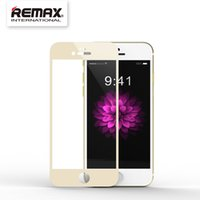 best screen cover for iphone - Tempered Glass for iPhone inch Full cover screen guard film HD Toughened H Hardness Remax Best i6