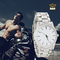 Wholesale 2016 HBY new arrival man fashion stainless steel strap quartz wrist watch from china