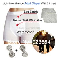 Wholesale Reusable Adult Incontinence Diaper Nappy Pants or Adult Cloth Diapers Nappies Diaper Insert AD