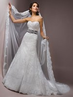 Wholesale A line Strapless Black and White Wedding Dresses New Court Train Crystal Belt Luxury WEdding Gown