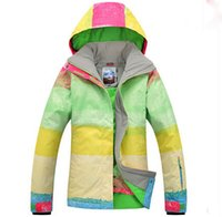 Wholesale New Arrival New Product Women Fashion Multi color Zip Warm keeping Ski Jacket