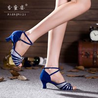 adult jazz shoes - Hot Shoes Honey and Latin shoes Women s Adult Female Latin Dance shoes heels dance Dance shoes soft Bottom Heel cm Factory