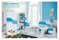 Wholesale Child Dream House Furniture Children Bedroom Furniture wood furniture Bed desk wardrobe cabinet MYL8810