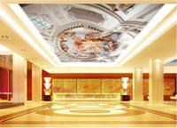 Wholesale 3d wallpaper TV background wallpaper the living room sofa backdrop mural Kagura ceiling mural wallpaper