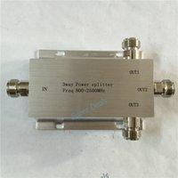 Wholesale Way Power Splitter MHz power divider mobile phone booster splitter signal booster divider