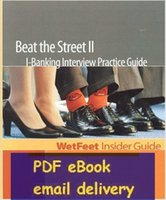bank practices - Beat The Street II I Banking Interview Practice Guide Edition WetFeet Insider Guide