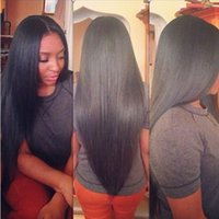 Wholesale Middle Part Straight Glueless Full Lace Human Hair Wigs Brazilian Virgin Hair Lace Front Wig For Black Women With Baby Hair inch B
