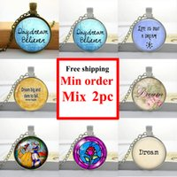 beauty quote - NS Dream Necklace Jewelry Quote Pendant Beauty and The Beast Jewelry Glass Dome Necklace