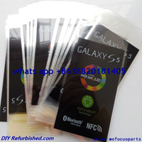 Wholesale For Samsung Galaxy S5 I9600 G900 refurbish front factory screen protector sticker new phone film