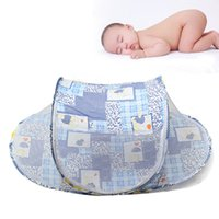 Wholesale High Quality Baby Infant Bed Portable Baby Folding Bed Nets Crib Mosquito Net Rocker Nets FG02022