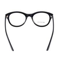 Wholesale New Hot Fashionable Ultralight Black Big Lenses Eyeglass Glasses Frame Eyeglasses Lenses