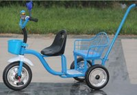 baby bicycle - child tricycle twins baby bicycle double seat tricycle tandem trike strollers
