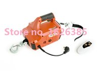 Wholesale Portable Electric Winch with wireless remote control For Constrution kg Cable meter Electric Winch
