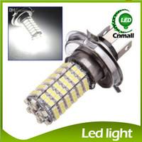 Wholesale 4pcs H4 SMD Car LED Front Fog Headlight Lamp High Beam V White Car Light Led Bulb