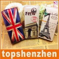 american cover design - Hot Sale Christmax Gift Retro Europe Printing PU leather design coin purses wallets students cartoon Purse mix colors optional