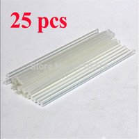 Wholesale Price mmx200mm Clear Glue Adhesive Sticks For Hot Melt Gun Car Audio Craft transparent For Alloy Accessories A3