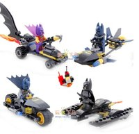 avengers motorcycle - 240pcs super heros batman Motorcycle batpod building block toys The Avengers batman SY203 figures blocks