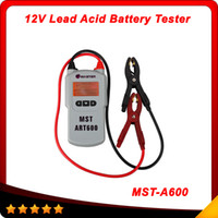 acid battery tester - MST A600 V Lead Acid Battery Tester Battery Analyzer MST A600 MSTA600 Automotive Electrical Testers Test Leads