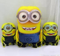 Wholesale 92 cm Big Size Minion Balloons fashion Despicable Me minion Toys Christmas Birthday Wedding Decoration Party inflatable air balloon DHL BY
