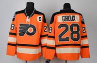 nhl jersey - Cheap Men s Philadelphia Flyers ICE Hockey Jerseys NHL Claude Giroux Jersey Third Orange Winter class Stitched Jerseys C Patch CCM