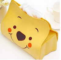 Wholesale hello Kitty new leather tissue pumping hellokitty Storage Appliances Removable paper towels hot sales new wholesales