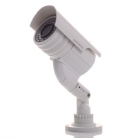 Wholesale waterproof Outdoor Indoor dummy IR camera with flashing led Bullet Fake security camera dummy decoy mock camera white in retail box