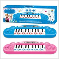 Wholesale Musical instruments toy Piano girl Cartoon electronic organ toy keyboard electronic baby piano with music song Educatio