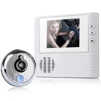 Wholesale quot LCD Monitor Digital Door Peephole Viewer Home Security Camera Cam Doorbell order lt no track