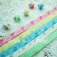 Wholesale 320 strips colorful Korean origami lucky star paper folding multicolor wish Gift lovely LOVE