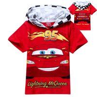 Cheap 2015 children summer leisure clothing wholesale boy baby car character short sleeve t shirt kids tops tees 5pcs lot