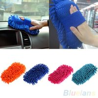 Wholesale Ultrafine Fiber Chenille Anthozoan Car Wash Washer Supplies Washing Cleaning Glove U3S
