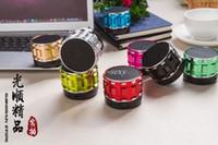2016 Mini Altavoz Bluetooth S28 inalámbrica estéreo portátil de MP3 de alta fidelidad Reproductor de música del altavoz del TF S26 S30 S32 S14 S13 coche manos libres con micrófono