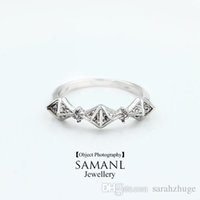 Cheap White Rose Gold Plated Punk finger ring with micro CZ stone diamond rings for women