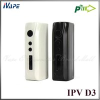 Ipv d3 Prix-Pioneer4you <b>IPV D3</b> 80W TC Box Mod 100% Original <b>IPV D3</b> YiHi Chip-Set Control de température 18650 Ecigarette Mods VS KBOX Mini eVic Mini