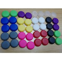 Wholesale 100pcs Rubber Silicone Cap Thumbstick Thumb Stick Cover Case Skin Joystick Grip Grips For PS3 PS4 xbox oneWireless Controller