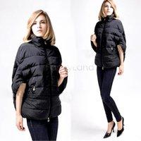 Wholesale New Europe winter coat women fashion down coat jacket outerwear Bat sleeve in thick women jackets parka overcoat
