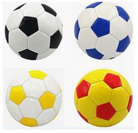 Wholesale Mini Soccer Ball Size Kids Children Kindergarten Outdoor Sport Play Toy Colors May Vary