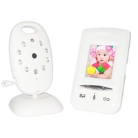 Wholesale CCTV Security Baby Monitor Two Way Talk Night Vision Temperature Monitoring quot LCD Videos Lullabies GHz keep your baby safe VB602