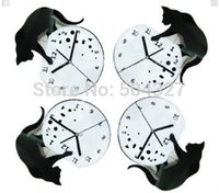 novelty clocks - Pieces Novelty Clock Cat and Fishbowl Acrylic Clock Cat Wall Clock