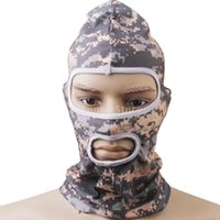 acu balaclava - New Arrivals Army ACU Digital Camo Nylon Full Face Mask Balaclava Hunting Cycling